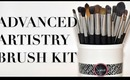 Awesome New Brushes! Advanced Artistry Kit
