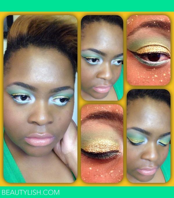 J.'s  Green Beautylish wi natural  Bay makeup  green   Makeup bay Packers Photo TaNisha
