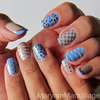 Mixed Patterns NailArt