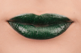 Lust + Luck: Green Lips