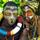African Aboriginal Photoshoot