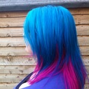 Blue and Pink Hair ^_^