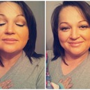 Moms makeup done by me!
