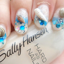 3D REAL Seashells Nail Art