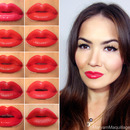 My Top 10 Red Lipsticks for Valentine's Day
