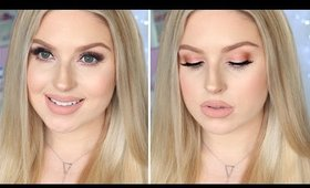 Makeup For Fair or Pale Skin ♡ Glam Daytime Rose Gold & Nudes!