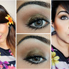 Tropical Bronze Smokey Eyes