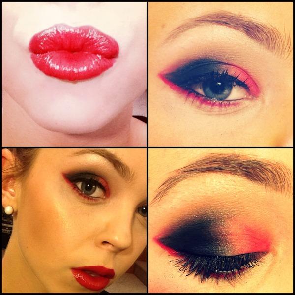My devil Halloween makeup | Sarah M.'s Photo | Beautylish