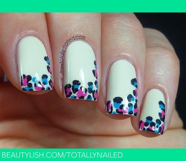 Wild French Tip Nail Designs: Danielle R.'s (totallynailed) Photo