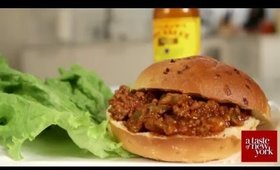 In the Kitchen with PrissaJean - All American Food; Sloppy Joe's and Crab Cakes