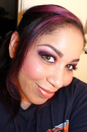 Starfire Inspirational Look http://makeupbysiryn.wordpress.com/2011/07/18/starfire-inspirational-look-poll-3-reader-choice/