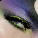 Disney villains. Maleficent inspired make-up