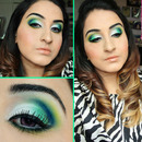BlueGreen Cut Crease