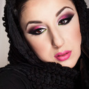Wearable arabic make-up