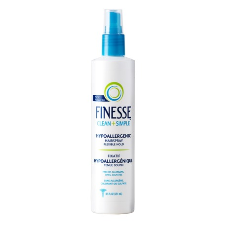 Finesse Clean   Simple Hypoallergenic Hairspray  Beautylish