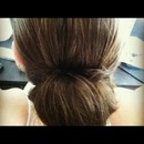 Twist Flip Bun - Bridal Hair