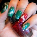 christmas - OPI  / CALL MY M-A-GENT-A AND opi / jade is the new black