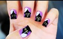 Haunted House Nails!!!