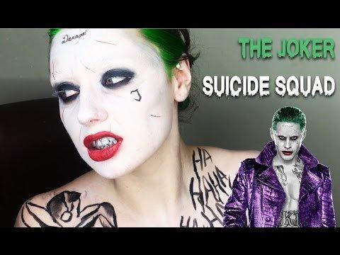 The joker makeup