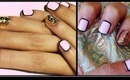 How To: Border Nail Manicure