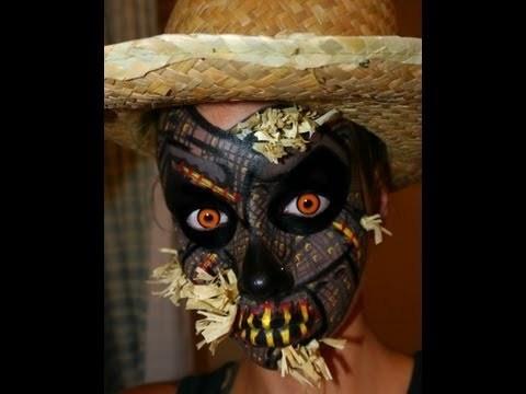 Halloween Series 2012 Scarecrow Halloween Makeup Face Painting