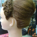 Wedding UpDo (side view)