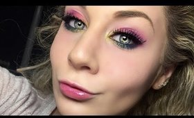 Rainbow Eyeshadow Makeup Tutorial
