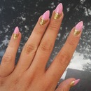 Amanda Bynes Inspired Nails