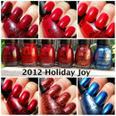 China Glaze 2012 Holiday Joy collection part 1
