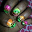 my funky nails