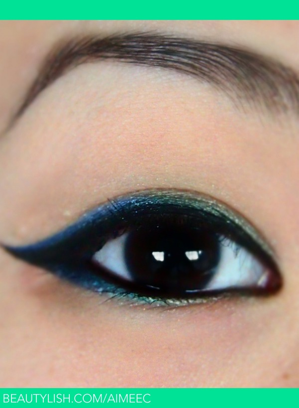 Blue Green Ombre Eyeliner Aimee Aimeec