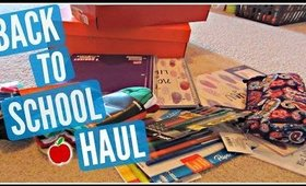 Back To School Supplies Haul 2015!