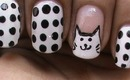 Cat Nail Art Designs - Freehand Nail Art Design Do It Yourself Tutorial Easy Beginners Nails