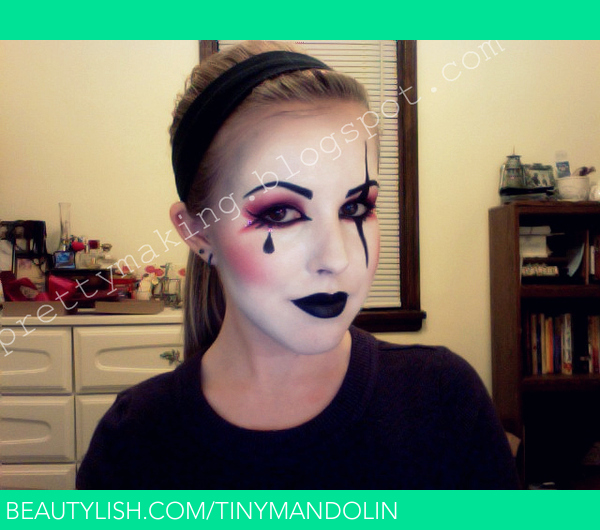 Harlequin Make-up Partial