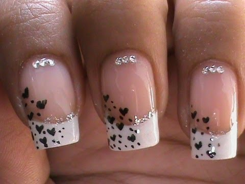 French Manicure Nail Art Designs How To With Nail Designs And Art