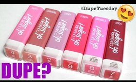 DUPE?! Covergirl Oh Sugar vs Fresh Lip Balm | #DupeTuesday EP. 2