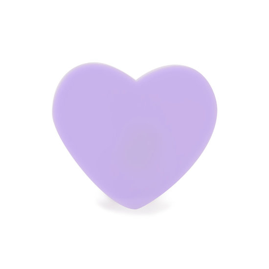 Paw Palette Lilac Heart Ring