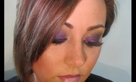 Gothic Inspired Black N' Purple Look + LIT Gift Kit in Cher Solid/Size #2 Giveaway Ends 05-07-12