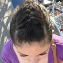 Braid with a pony tail