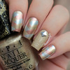 Mixed Metals Fishtail Nails
