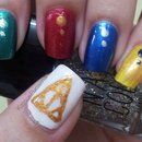 Harry Potter inspired nails