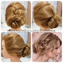 Taylor Swift Inspired Messy Bun Updo