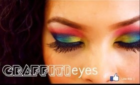 """Graffiti"" Colorful Eyes Tutorial"