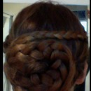 Spiral Braided Bun