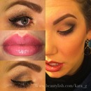 Defined Smokey Eye With Ombré Lips