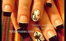 MARILYN MONROE type tutorial: robin moses nail art