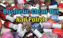 Cosmetic Clean-Out: Nail Polish -  Part 1 (ORLY, OPI, China Glaze, Essie)