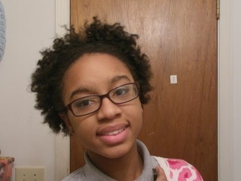 Flat Twist Out On Short Natural Hair Tutorial Tommieboo14 Video