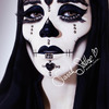 Day of the Dead Makeup by Sarah Steller
