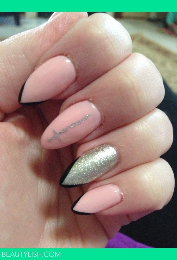 Pretty Pink Nails Alycia O S Photo Beautylish